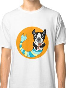 Boo the Boston Terrier Mermutt Classic T-Shirt