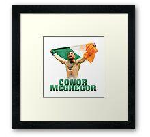 Conor McGregor - Flag Framed Print