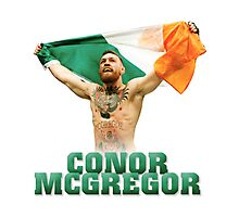 Conor McGregor - Flag Photographic Print