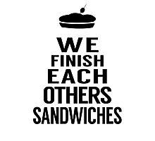 Sandwiches Photographic Print