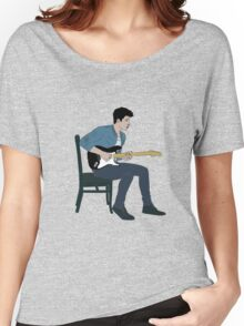 Shawn Mendes - Illuminate lineas finas azul Women's Relaxed Fit T-Shirt