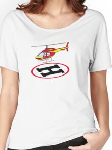 Landing helicopter Women's Relaxed Fit T-Shirt