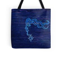 The wind in her hair by Nikki Ellina Tote Bag