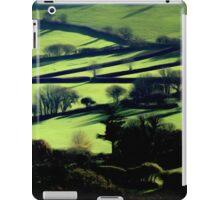 Emerald landscape. iPad Case/Skin