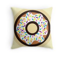 Rainbow Sprinkles Throw Pillow