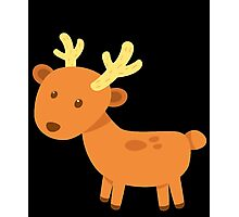 Lovely Cute Small Deer Vector Graphic Photographic Print