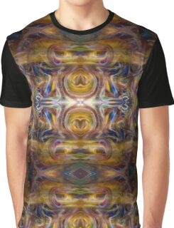 Earth Wizard Abstract Psychedelic Graphic T-Shirt