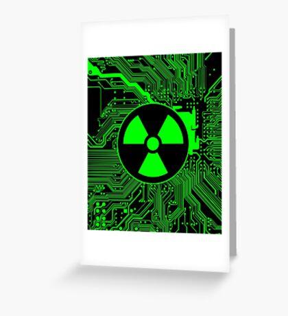 Cybergoth - Radioactive (Green) Greeting Card