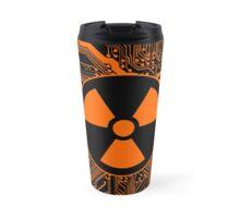 Cybergoth - Radioactive (orange) Travel Mug
