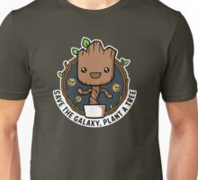 Save The galaxy Plant A tree Go Green Unisex T-Shirt