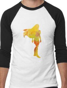 Princess Inspired Silhouette Men's Baseball ¾ T-Shirt