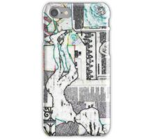 Music at her feet by Nikki Ellina iPhone Case/Skin