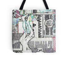 Music at her feet by Nikki Ellina Tote Bag