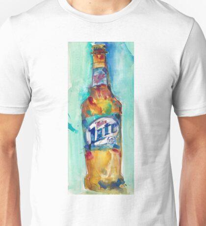 Miller Lite Beer Original Beer Art Watercolor Unisex T-Shirt