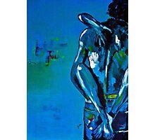 Blue Passion Photographic Print