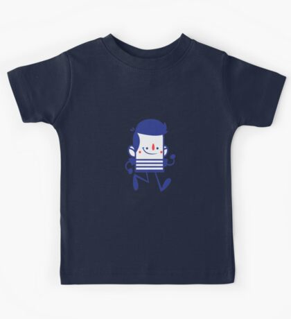 Funny Lovely Cartoon Vector Graphic Animinated Kids Tee
