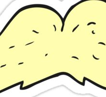 cartoon mustache Sticker