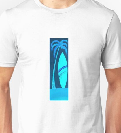 Salty surfboard Unisex T-Shirt