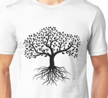 Tree with Roots Unisex T-Shirt