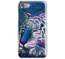 Sleepy Tiger iPhone Case/Skin
