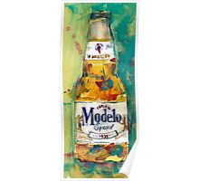 Modelo Especial Beer - Mexico Beer Art  Poster