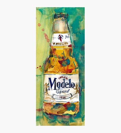 Modelo Especial Beer - Mexico Beer Art  Photographic Print