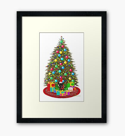 Cookies for Santa Claus Framed Print