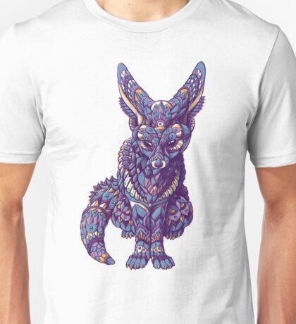 Fennec Fox (Color Version) Unisex T-Shirt