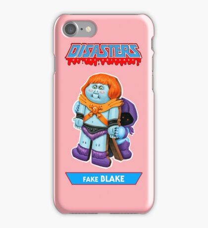 Disasters of the Universe - 5. Fake BLAKE iPhone Case/Skin