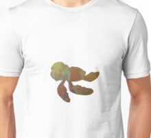 Turtle inspired silhouette Unisex T-Shirt