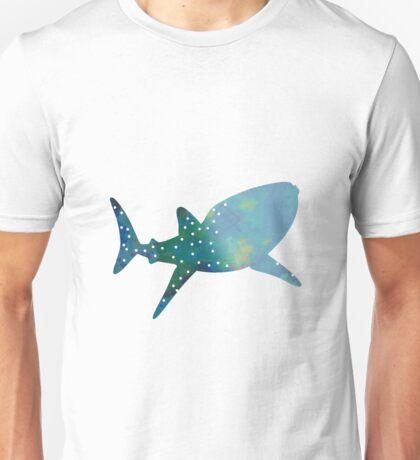 Whale shark inspired silhouette Unisex T-Shirt
