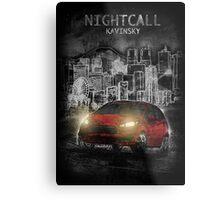 Kavinsky: Nightcall Metal Print