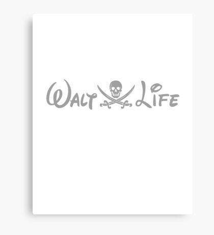 walt life Canvas Print
