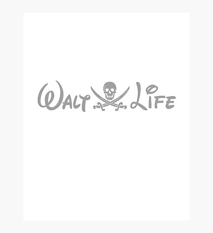 walt life Photographic Print