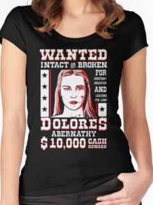Dolores Women's Fitted Scoop T-Shirt