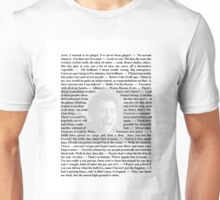 Doctor Who Quotes - Quotes from the 10th Doctor Unisex T-Shirt