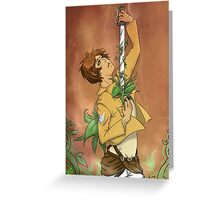 SNK - Beauty in the Beast Greeting Card