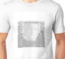 Doctor Who - Quotes from the 11th Doctor Unisex T-Shirt
