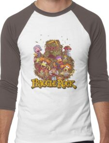Fraggle Rock Retro Men's Baseball ¾ T-Shirt