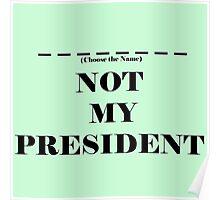 Choose the President Poster