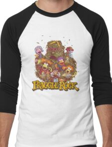 Fraggle Rock Retro Design Men's Baseball ¾ T-Shirt