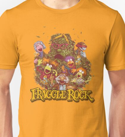 Fraggle Rock Retro Design Unisex T-Shirt