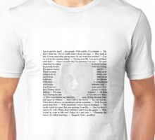 Doctor Who - Quotes from Amy Pond Unisex T-Shirt