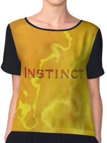 INSTINCT Chiffon Top