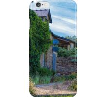 A Stone Cottage in Beganne, Brittany, France iPhone Case/Skin
