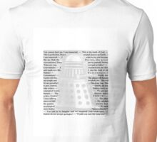 Doctor Who - Quotes from the Daleks Unisex T-Shirt