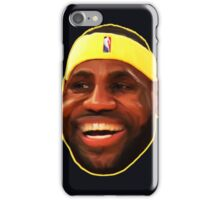Funny Lebron Face  iPhone Case/Skin