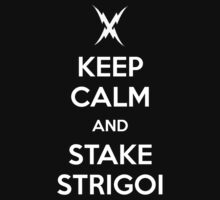 KEEP CALM AND STAKE STRIGOI by princessbedelia