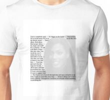 Doctor Who - Quotes from Martha Jones Unisex T-Shirt