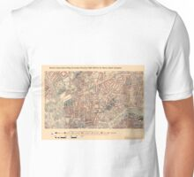 Booth's Map of London Poverty for St Mary's ward, Islington Unisex T-Shirt